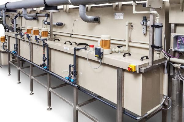 Bild på anläggning, wire pre treatment